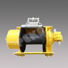 Free-all hydraulic winch